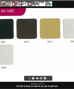 Mẫu màu vải, da, PVC - 1