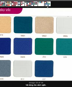 Mẫu màu vải, da, PVC - 10